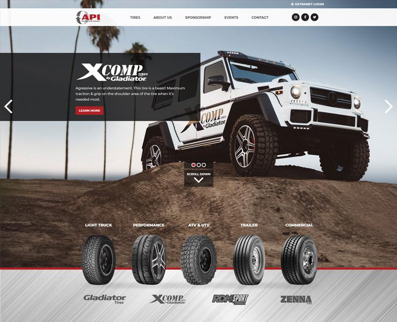 API Tire - Gladiator Tires